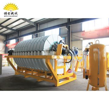 Molybdenum dewatering equipment mineral ceramic vacuum disc filter