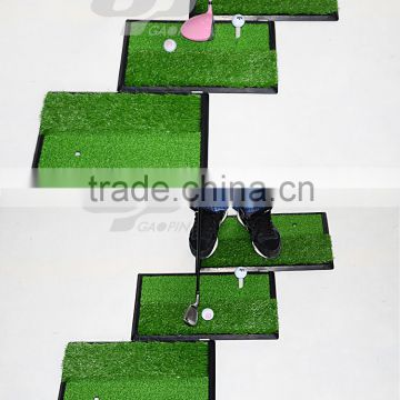 High quality Wholesale driving range golf hitting mat/ golf practice swing mat