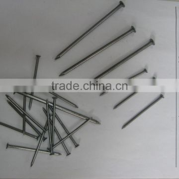 alibaba china common smooth shank iron wire nail
