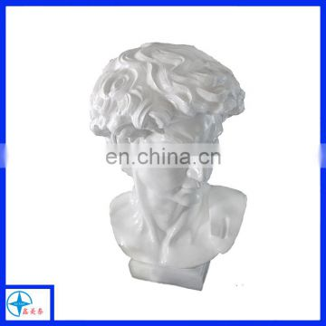 customized resin Roman David statue