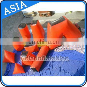 Durable PVC Inflatable Paintball Bunkers/ Airsoft Bunkers Combination