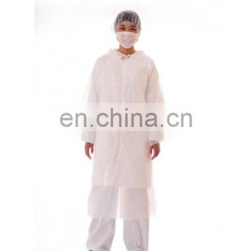 Disposable Visitor Kit/Cap, PE Visitor Coat, CPE Shoe Cover And Paper Face Mask