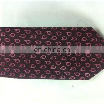 100%silk men ties and handkerchief silk tie set for man