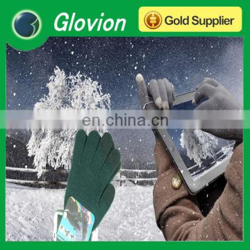 Best seller gloves for touch screens finger touch screen glove for smartphone wool touch glove