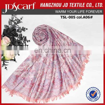 Alibaba supply spring winter very soft silk pashmina scarf