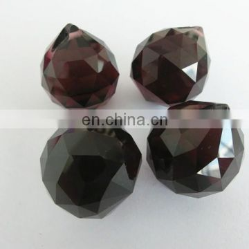 K9 Dark Amethyest Crystal Balls 30mm 20mm for Wholesale