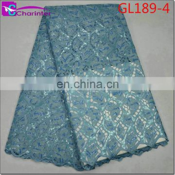 High quality Charinter african organza lace fabric GL189