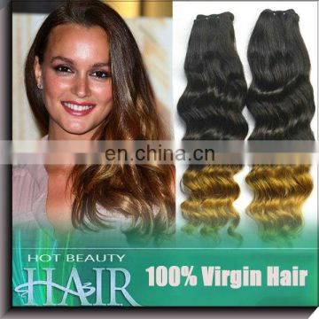 ombre remy tape hair extension still can be dyed to other color and do other styles