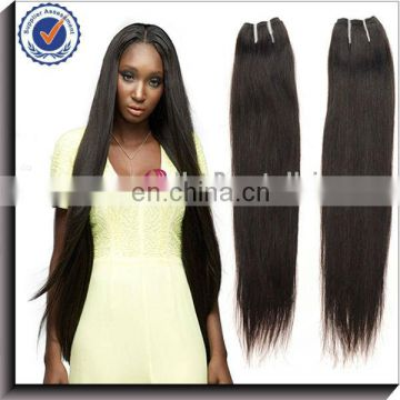 Elegant and graceful natural straight brazilian human hair weaving