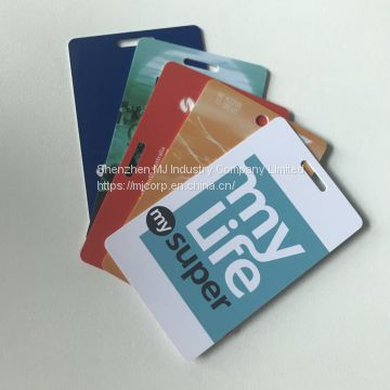 Plastic metal customized printing loyalty business card at cheap price