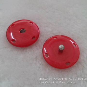 Much varieties and different specification resin snap button/snap button for overcaot