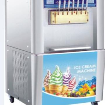 Gray Ice Cream Machine 518*740*1280 Numerical Speed Control