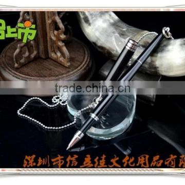 TT-10 Fashionable desk pen with chain , table pen for gift