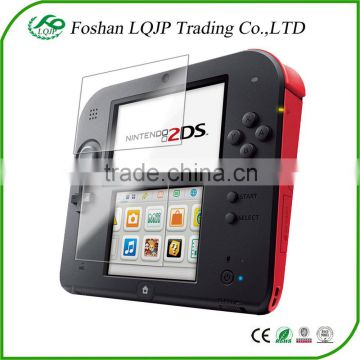Clear Screen Protector guard film for Nintendo 2DS Screen Protector & Cleaning Cloth