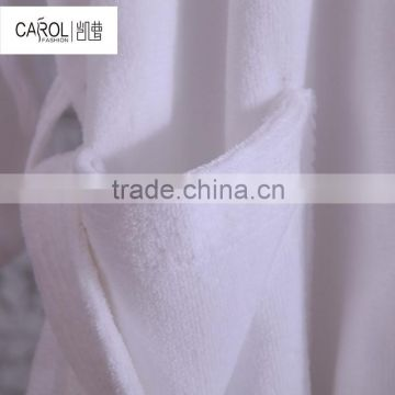 wholesale white hotel microfiber towel bathrobe