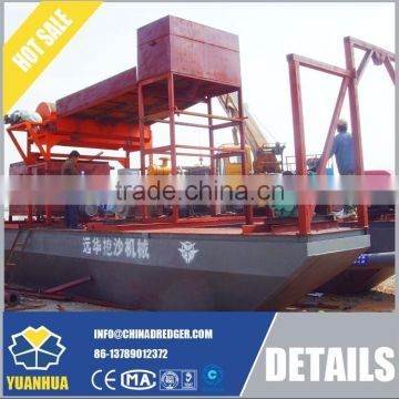 6 - 14 inch sand dredger hydraulic system or mechanical driven
