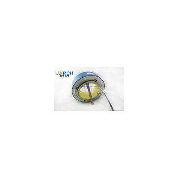 2A ~ 80A Through Bore Slip Ring / Rotary Electrical Interface Available with Ethernet