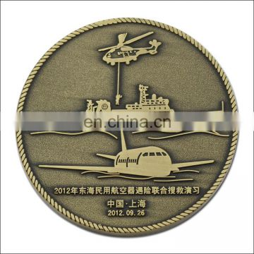 Custom metal coins round golden old coins/souvenir coins
