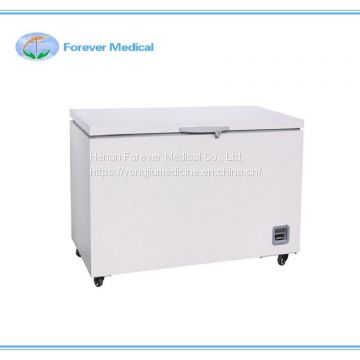 -40 Degree Top Open Door Refrigeration Equipment Medical Deep Freezer
