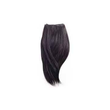 Unprocessed 16 18 20 Inch Synthetic Hair Extensions Chocolate
