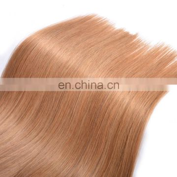 Factory wholesale Best quality blonde human hair weaving tangle free european virgin hair extensions