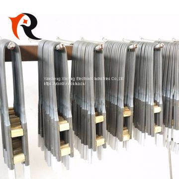 U Type MoSi2 heating elements for 1700C electric furnace