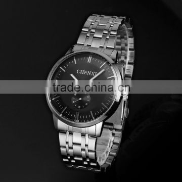 Relogios masculino steel quartz watch men vintage dress watches WA060