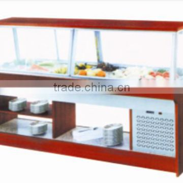 Salad Bar Restaurant Equipment Counter Cooler