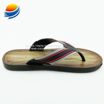 9f17f3ff1acfe ... Promotion Cheap New Model Design Men Plastic Sport Chappals 6J601+3W ...