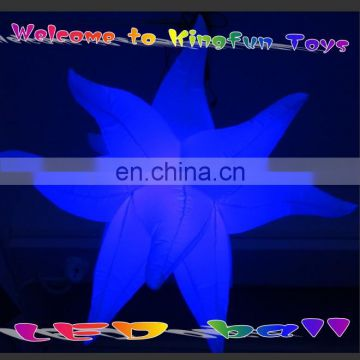 eyecatching color changing led inflatable stars