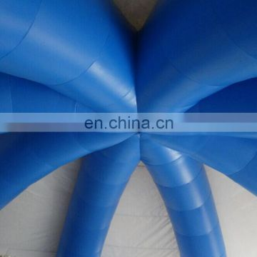 blue&white inflatable party dome tent
