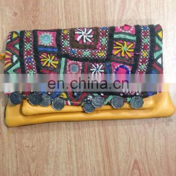 Wholesale Lot of Vintage Banjara Gypsy Clutch Manufacturer from India
