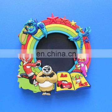 customized rubber soft sticker pictures frame