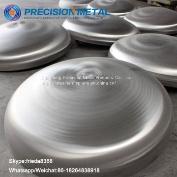 Boiler Tank Steel Elliptical Dish Head Large Pipe End Caps