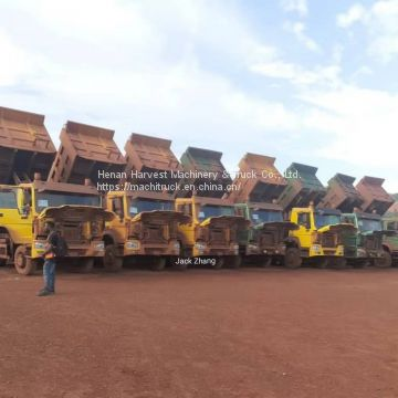 sinotruk howo dump truck 6x4 Used Dump Truck Export to Africa working in Africa