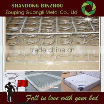 Mattress sale Bonnell spring unit for bedroom furniture with galvanized steel wire mesh fence