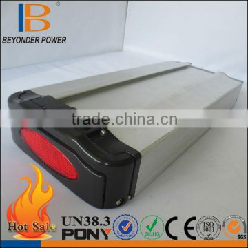 Hot selling good quality lithium ion 36v/10ah lifepo4 battery pack from manufacturer in China