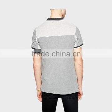 2015Men's Clothing Polo Shirt with Ribbon