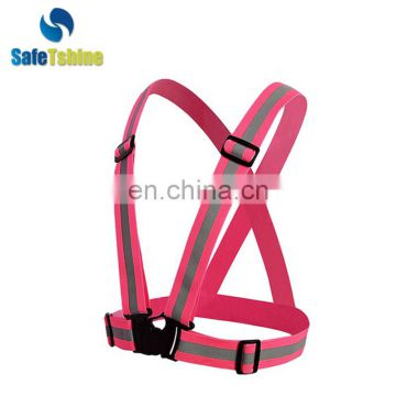 high visibility reflective walker with safety waist belt