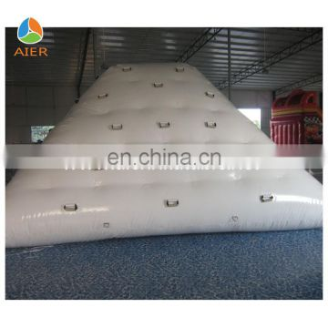 factory outlet inflatable water iceberg for floating water park