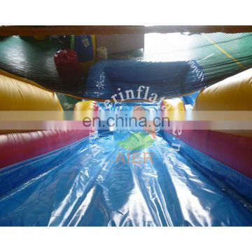 Aier classic inflatable water slide L173 with net hole pool