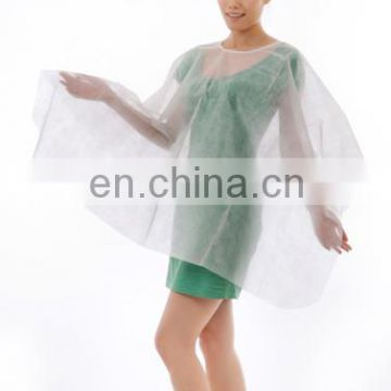 Customzied High Quality Disposable Nonwoven Hairdressing Cape For Hair Salon