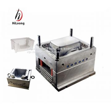 taizhou plastic injection mold supplier for laundry basket