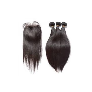 Silky Straight No Mixture Synthetic Hair Extensions Mixed Color