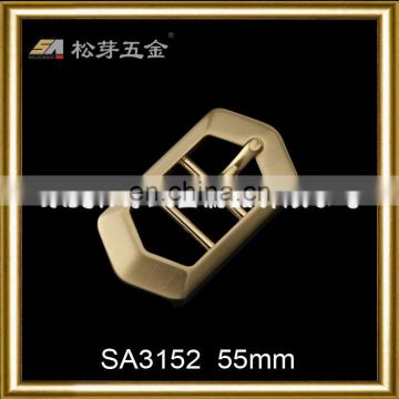 Song A Metal Best Quality Heavy metal center bar pin buckle low slung belt metal fitting 55mm