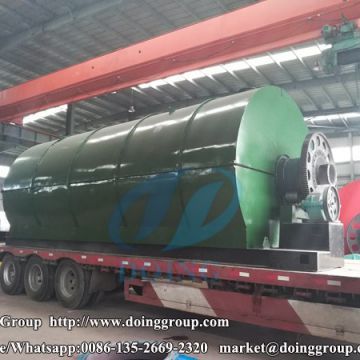 Waste plastic pyrolysis plant was Successfully Installed in India