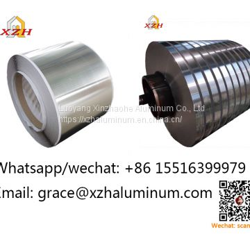 rolled aluminum/aluminium coils/foils/sheets/strips/ribbon/wire/cable for dry type transformer windings0.25mm*560mm