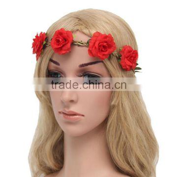 Dsfg002 Hair Accessories Bride Bohemian Floral Headwear Festival