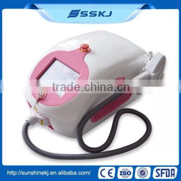 Portable Blue Blue Laser Pigmented Hair Diode For Hair Removal Multifunctional