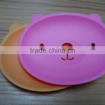 Lovely various shape convinent silicone soap mat